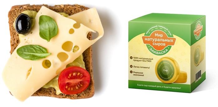 Cырная закваска Мир натуральных сыров в Красном Луче